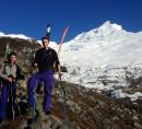 Viaje de esqui de travesia por la Patagonia, con Sebi y Alex